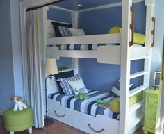 Built in Bunk Bed I built of the HGTV Dream Home Kiawah Island, SC