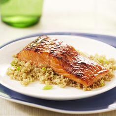 quinoa recipe, appleging quinoa