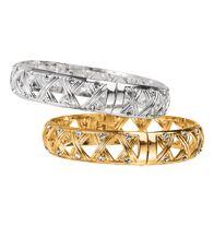 $19.99 Basket Weave Bangle Bracelet
