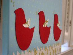 three little birds painting