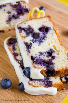 This blueberry lemon cake, loaded with fresh blueberries and glazed with perfectly sweet and tangy lemon cream cheese frosting, is the best thing ever!