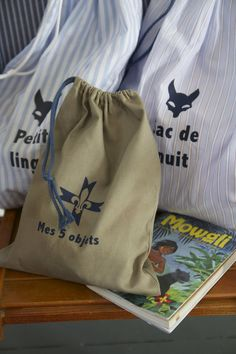 sacs de camp pour petits louveteaux