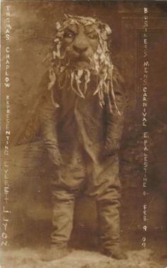 businessmen's carnival, 1909