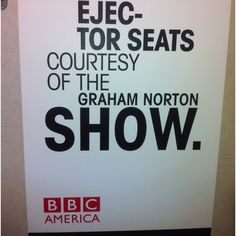 See a taping of The Graham Norton