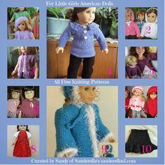Sanderella's Crochet Blog: *American girl dolls free knitting patterns*