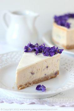 Every Cake You Bake: Violet Cheesecake