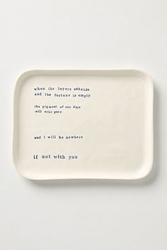 Musings Tray