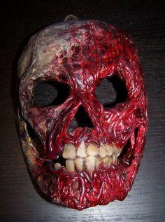 Rawdog original Paper Mache Skull Mask by PlanetDoom on Etsy, $40.00