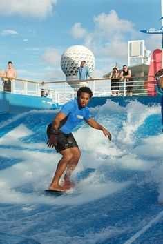 Surf's up! #flowrider