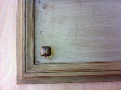 Faux paint cabinets