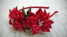 D.I.Y. Satin Ribbon Flower Headband