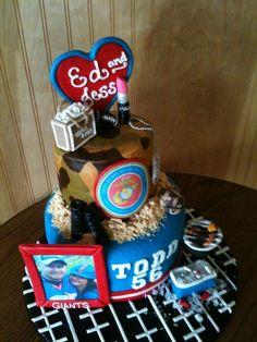 anniversary  Cake marine