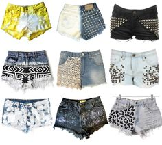 heylilahey.: diy shorts