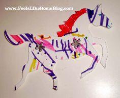 paper horses