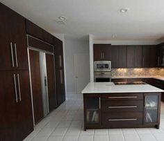 Kitchens Dark Brown On Pinterest New Construction Doors And Dark Cabinets