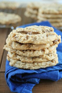 Chewy Caramel Kiss Peanut Butter Cookies