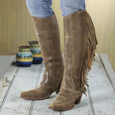 I LIKE THESE A LOT!!!! ~fringed half chaps~