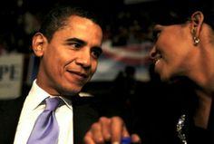 President Barak Obama With 1st Lady Michelle Obama.. obama famili, ladi michell, first ladies, presid barack, 1st ladi, 1st famili, presid obama, michell obama, barack obama