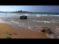 BEST RELAXATION VIDEO - Beautiful Greek Beaches - Relaxing Nature Sounds w/o Music -  Nature Scenes