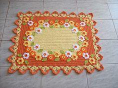 tapet primavera, artesanato, de crochê, crochet doili, soment crochê, amo crochê, tapet crochet, crochet doilystat, crochetdoili