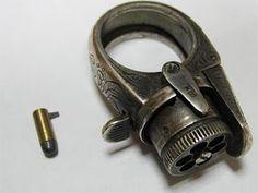"""Le Petit Protector"" pistol ring"