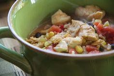 Mix and Match Mama: Dinner Tonight: Chicken Fajita Soup