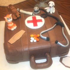 Cake Ideas by Lori Kirk  Veterinary Cake