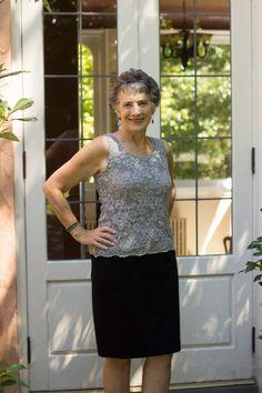 Sleeveless Stretch Lace Tank | Sew Mama Sew |
