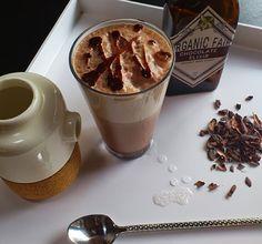 organicfair's chocolate elixir makes a perfect chocolate egg cream ...