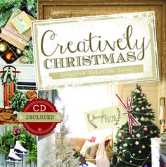 Creatively Christmas by Jennifer Rizzo pre-order on Amazon now! Full of Holiday decorating, inspiration and projects and some great craft projects!