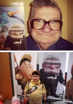 this just makes me smile. UP Pixar.