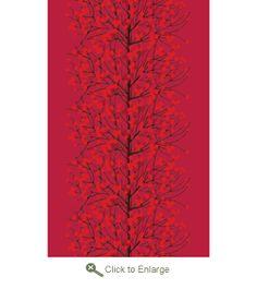 Marimekko Lumimarja Red Tablecloth - Click to enlarge