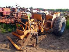Case 585 tractor salvaged for used parts. Call 877-530-4430. We buy salvage farm equipment. 7 salvage yards in the Midwest. http://www.TractorPartsASAP.com