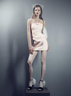 #KasiaStruss #fashion #editorial by #VictorDemarchelier for #AntidoteMagazine F/W 2013-14 #moda