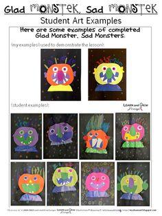 glad monsters & sad monsters