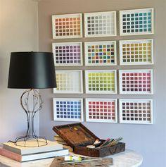Decorator Paint Chip Prints