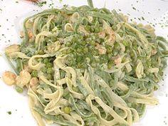 Recetas | Tallarines de colores con salsa de camarones | Utilisima.com