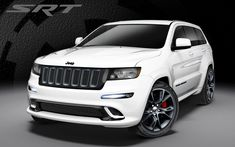 The 2013 Jeep Grand Cherokee SRT8 Alpine Edition is looking good.