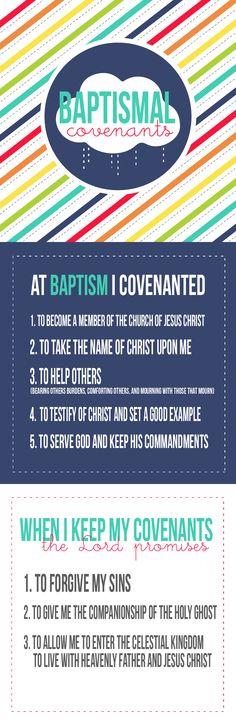 Baptismal covenants