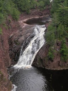 Superior Falls in Ironwood Michigan was well worth the trip to see it.