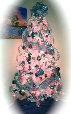 Beach Christmas Tree 2011