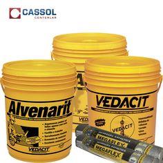 produtos impermeabilizantes você encontra na Cassol Centerlar.