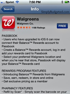 Walgreens app is free and is one less savings card to carry on my keys! #CBias #BalanceRewards