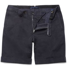 SlowearIncotex Slim-Fit Linen and Cotton-Blend Shorts|MR PORTER