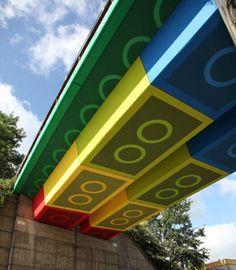 Lego Bridge -  Awesome
