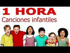 1 hora de canciones infantiles para niños y bebés - Recursos educativos escuela - YouTube