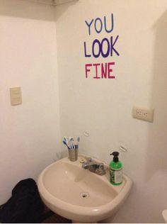 bathroom mirrors, houses, mirror mirror, schools, funni