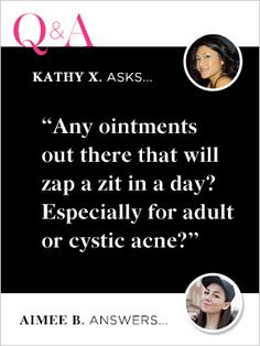 You Asked, We Answered: How To Deal With Adult Acne #Refinery29