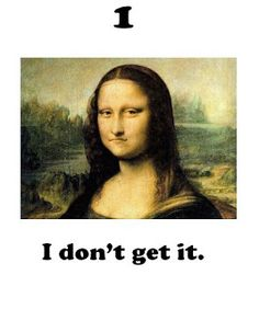 "Art Room 104: Marzano...""I Can"" Student Scale in the Art Room mona lisa, artroom, art room, student scale"