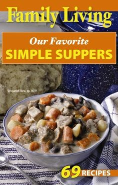 Leisure Arts - Family Living: Our Favorite Simple Suppers, $1.00 (http://www.leisurearts.com/products/family-living-our-favorite-simple-suppers.html)